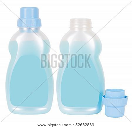 Conditioner Containers Isolated