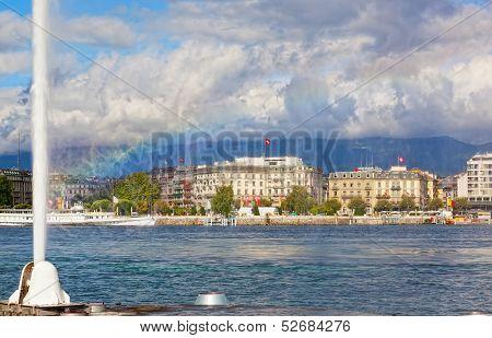 view of city of Geneva