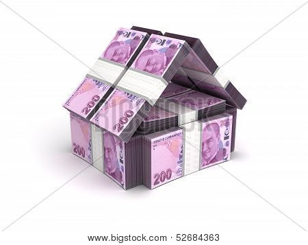 Real Estate Concept Turkish Lira
