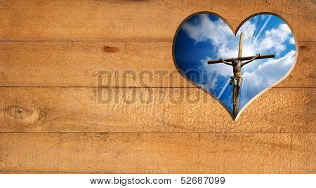 I Love Jesus - Crucifixion