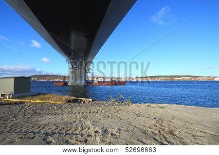 Bridge Frog Eye View