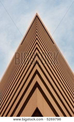 Tall Brown Building