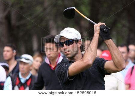 Frederic Abadie at the golf Masters 13, 2013
