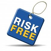 image of risk  - risk free 100 - JPG