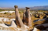 foto of cave-dweller  - Probably the best known feature of Cappadocia - JPG