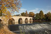 Old Stone Bridge In Wetzlar, Germany