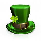 St. Patrick's Day Hat With Clover
