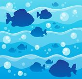 Fish theme image 8 - eps10 vector illustration.