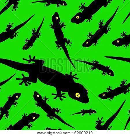 gecko pattern eps10
