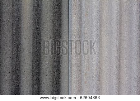 Gray Background  Of Asbestos Roof Surface