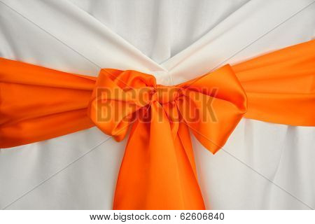 Wedding ribbon decoration
