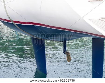 Sailboat Launching