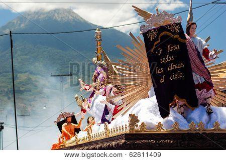 Holy Week Religious Procession, Guatemala