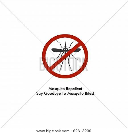 Mosquito Repellent Spary Label