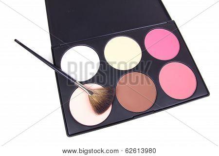Professional Make-up Corrector  With Make-up Brush