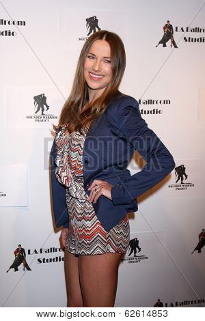 LOS ANGELES - MAR 31:  Edyta Sliwinska at the LA Ballroom Studio Grand Opening at LA Dance Studio on March 31, 2014 in Sherman Oaks, CA