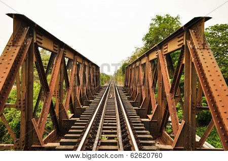 Train Tracks and Bridge