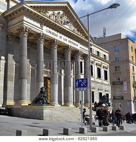 Madrid, Cortes