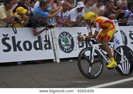 Alberto Contador on Stage 1