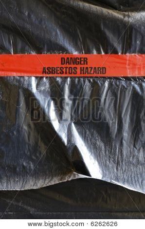 Gefahr Asbest hazard
