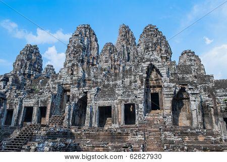 Ancient Bayon Temple