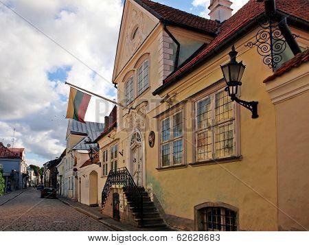 Lithuanian Embassy In Tallinn