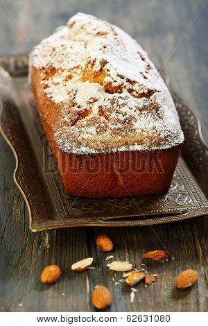 Almond Cake With Orange Zest.