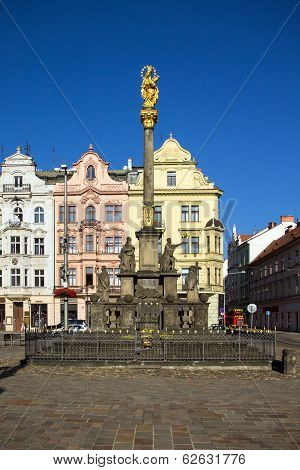 Plague Column, Pilsen, Czech Republic, 2014