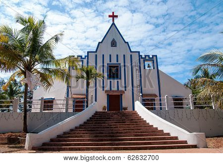 St. Anthonys Church, Galgibag Beach, Goa