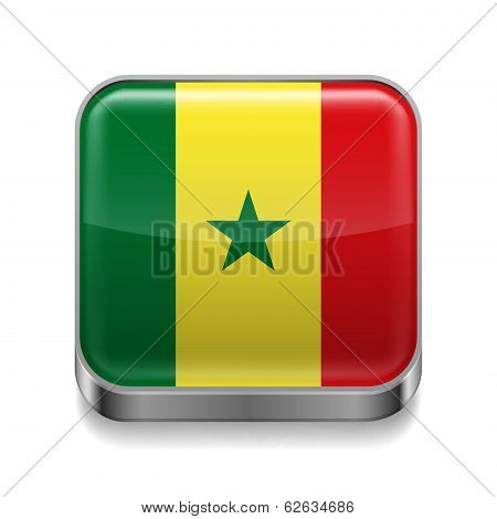 Metal  icon of Senegal