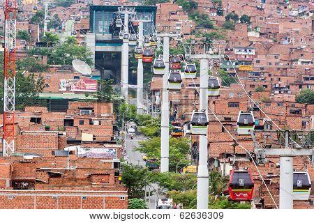 Medellin Metro Cable Cars