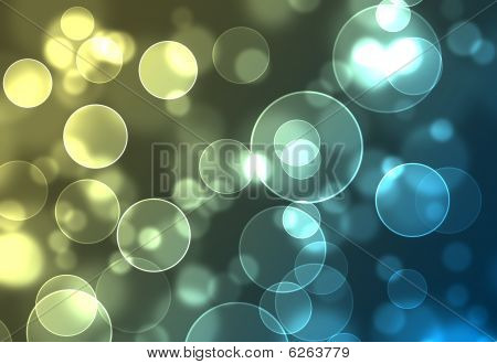 Abstract Background Of Colorful Lights