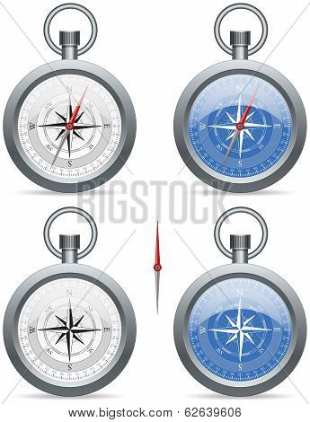 Compass With Pointer