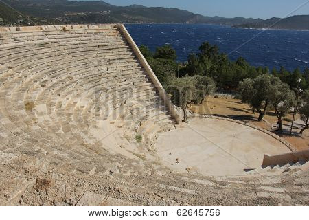 Ruins Of The Ancient Theatre