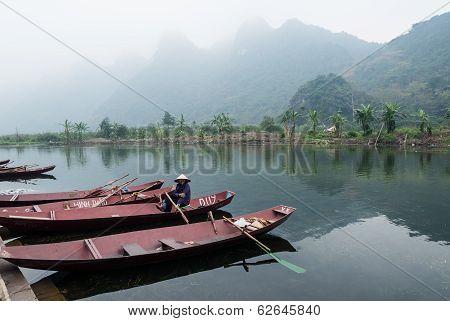 Woman In Boat, Vietnam