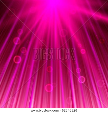 magic abstract background in pink color