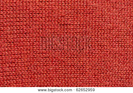 Red Wool Knitwork