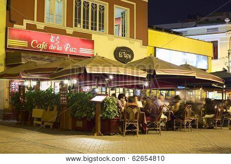 Restaurants in Miraflores, Lima, Peru