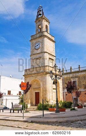 Clocktower. Ginosa. Puglia. Italy.