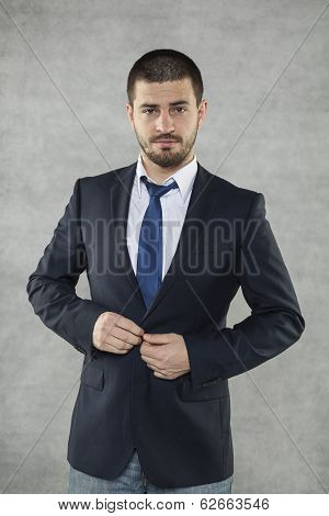Handsom businessman