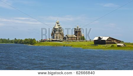 Wooden Cathedrals In Kizhi, Russia