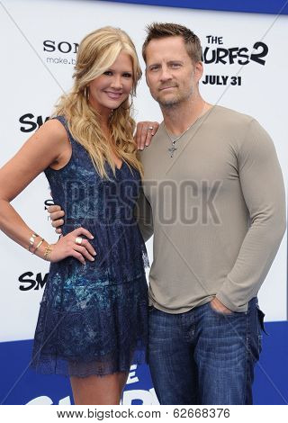 LOS ANGELES - JUL 28:  Nancy O'Dell & Keith Zubchevich arrives to the