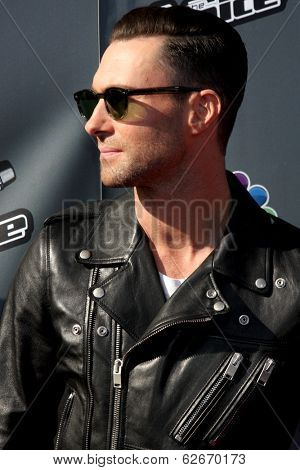 LOS ANGELES - APR 3:  Adam Levine at the