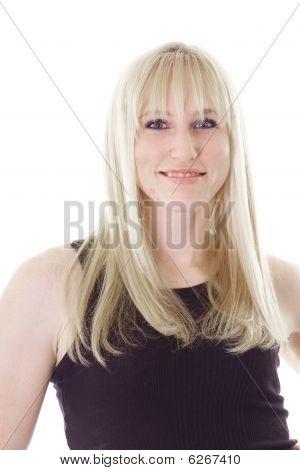 blonde haired girl
