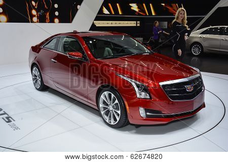 Cadillac Ats Coupe At The Geneva Motor Show