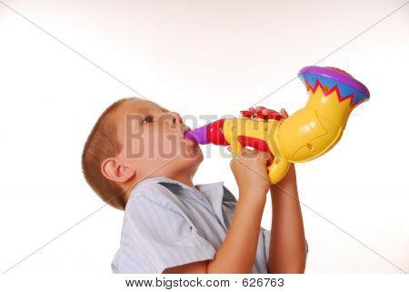 Boy Musician 2