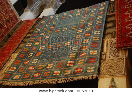 African Carpet Background