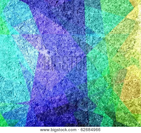 colored cubism grunge background