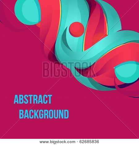 Abstract colorful
