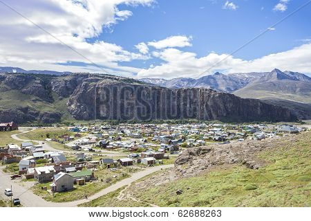 El Chalten Village In Argentina.